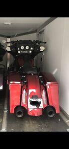Harley Stretched saddlebags