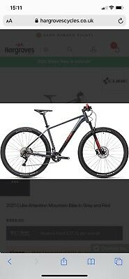 "Brand new 2021 Cube Attention 17"" men's mountain bike 29"" wheels - still in box"
