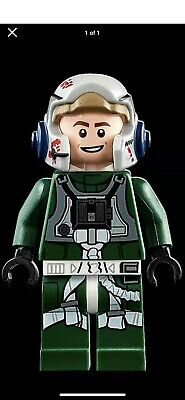 Authentic LEGO Star Wars Minifigure 75275 A-Wing starfighter Pilot