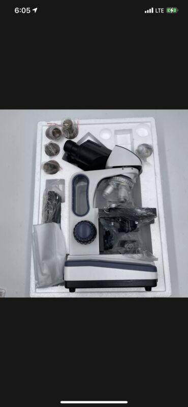 Swift SW350B 40X-2500X, Siedentopf Binocular Head, Compound Lab Microscope