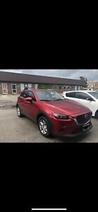 Mazda 2019 cx3 take over lease 3400 km
