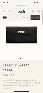 New hermès kelly long wallet OFFERs Welcome