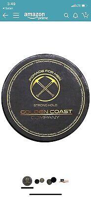 Men Hair Pomade Styling Oil Wax Hair Gel Golden Coast Company. Best On