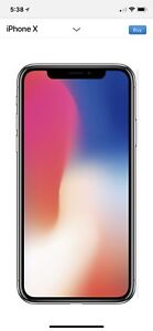 iPhone X for retail price
