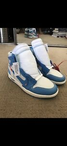 UA Air Jordan UNC Off-White 1s (Size 9.5 and 10.5)