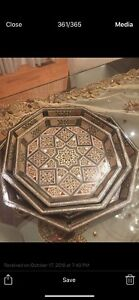 Luxurious Mosaic tray and boxes hand made