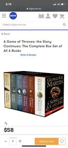 Game of thrones- book collection 6 books