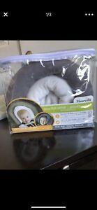 Infant plush head support pillow - Graphite