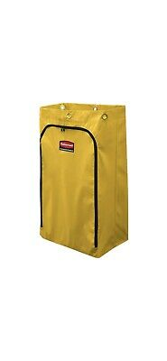 Rubbermaid 1966881 Commercial 34 Gal Vinyl Bag Zipper Cleaning Cart Replacement
