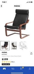 IKEA Leather Poang chair