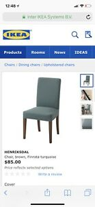 IKEA Henriksdal dinning chair