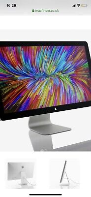 "Apple 27"" Thunderbolt Monitor A1407 LCD Widescreen 2560 X 1440 Display."