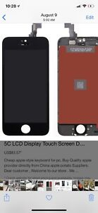 IPhone Lcd glass repair at ur door service and office or timmies