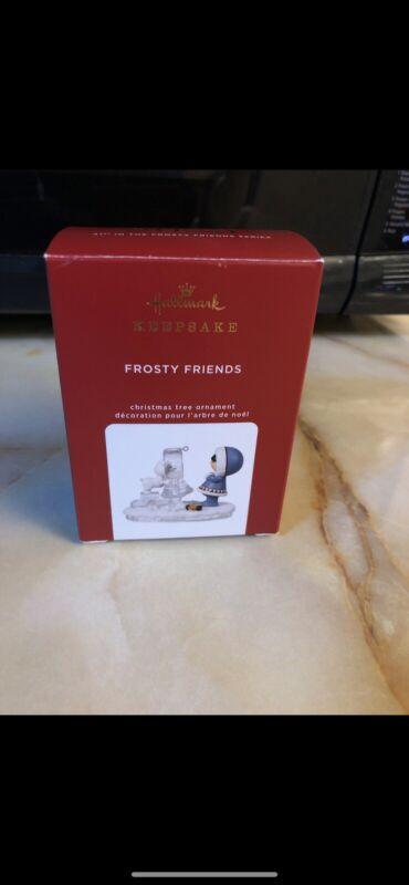 Hallmark Keepsake 2020 FROSTY FRIENDS Ornament, 41st in Frosty Friends Series