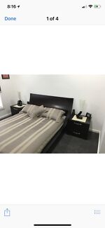Bedroom suit and mattress immaculate condition $1500 firm