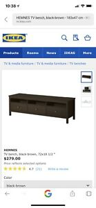 TV Stand And TV Smart Sony