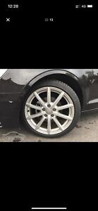 "Audi 18"" x4 Wheels/Rims including x4 tyres"
