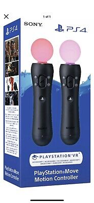 Sony PlayStation Motion Move Controller Twin Pack - PS4 - New