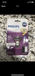 Philips LED GU10 Light Bulbs 3000k