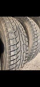 255/70R18 Hankook I-Pike RW11 winter tires