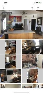 Sunny gorgeous apartment in heart of Saint Henri