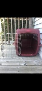 Small Dog Crate with Handle