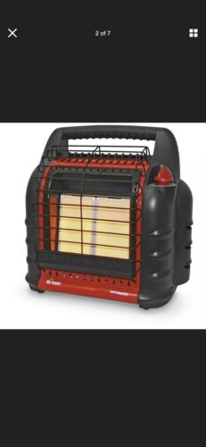 Mr. Heater 9K BTU Small Propane, Red, MH9BX, Lightweight Por