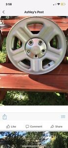 Jeep rims and tires good condition