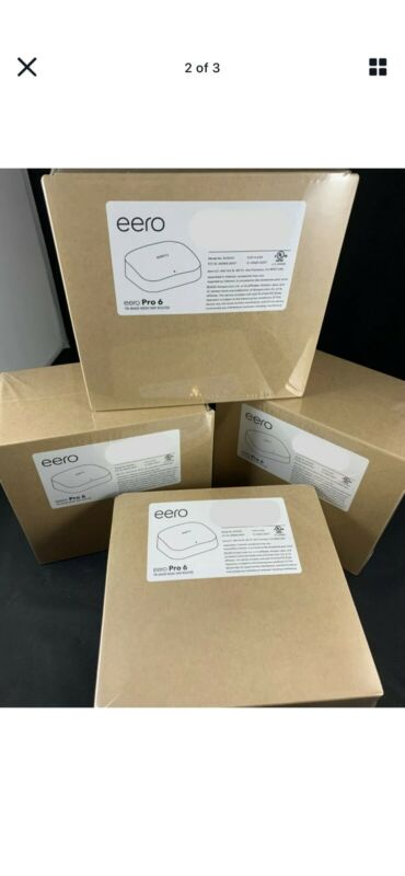 eero Pro 6 - Brand New - Wi-Fi 6 - 1 Pack - Free & Fast Shipping