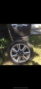 Konig 18x7 wheels mags  jantes aluminium with summer tires