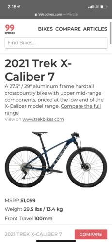Mountain Bike - $950.00