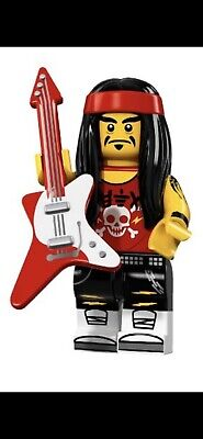LEGO GONG AND GUITAR PLAYER NINJAGO MOVIE MINIFIGURE SERIES 71019 NEW #17 PACK