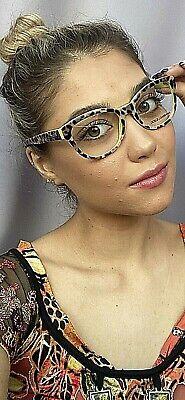 New Dolce&Gabbana DG 0932 6128 Animal Print 53mm Women's Eyeglasses Frame (Dolce And Gabbana Glasses Womens)