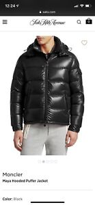Authentic Moncler Maya hooded down jacket