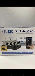 Kit de camera de sécurité wireless HD neuf