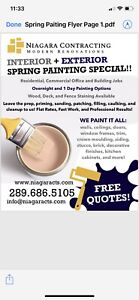 Professional Spring Painting special! Free Quotes!
