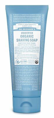 DR BRONNER`S MAGIC ORGANIC BABY UNSCENTED SHAVING GEL 207ml