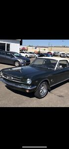 Deal of the year 1965 289 HO four barrel mustang