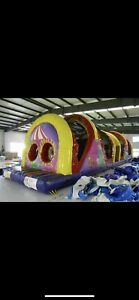 50ft inflatable obstacle course bouncy tent