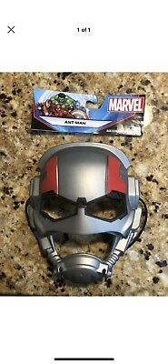 Marvel Ultimate Ant Man Mask Hasbro Durable Thick Plastic Extra Thick Strap - Ultimate Spider Man Halloween Special