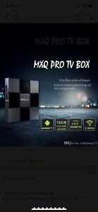 Android box MXQ pro 2gb with Android 7.1 New