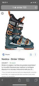 Nordica strider 120 24,5 - touring alpin ski boots