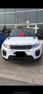 Lease takeover 2018 Range Rover Evoque