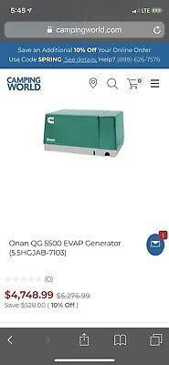 Onan Rv Generator 5500 Evap