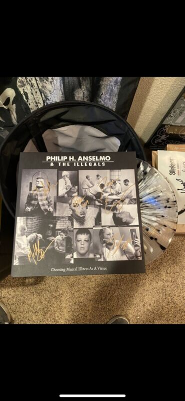 phil anselmo and the illegals signed vinyl