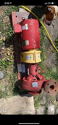 Red Patterson Pump Water Pump