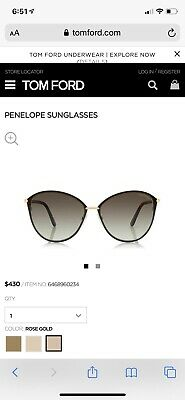 Tom Ford Penelope Sunglasses (Tom Ford Penelope)