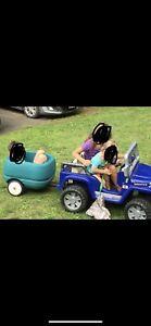 Powerwheels 2 seater jeep