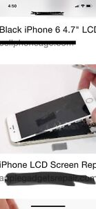 IPhone Lcd repair glass repair and much for @ ur door service