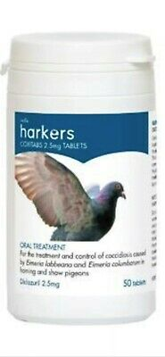 New Harkers Coxitabs Tablet Treatment for Coccidiosis Pigeons Bird Loft